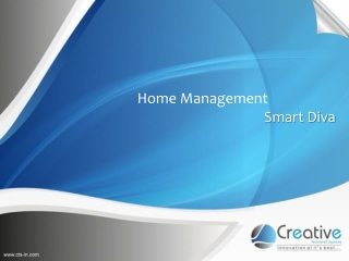 Smart Diva  Home Management