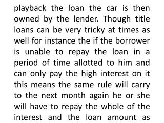 Title Loans Utah