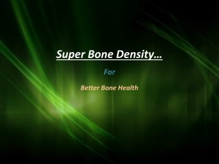 Herbal Supplements for bone Health in Los Angeles-CA