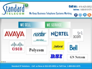 Telephone Systems Toronto, Meridian Telephone, Norstar Telep