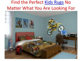 Find the Perfect Kids Rugs No Matter What You Are Looking Fo