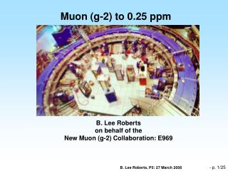 Muon g-2 to 0.25 ppm