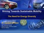 Driving Towards Sustainable Mobility