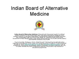 Indian Board of Alternative Medicine