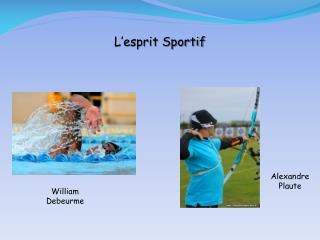 L esprit Sportif