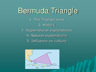 an analysis of the mysterious bermuda triangle The first time the bermuda triangle was mentioned was by writer vincent gaddis in an article published in 1964 for argosy magazine although there are plenty of unexplained disappearances in the area, it is also a heavily traveled area, and one of the busiest shipping routes.