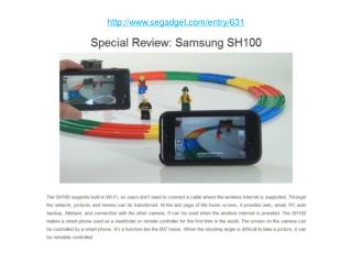 Special Review: Samsung SH100