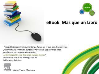 EBook: Mas que un Libro