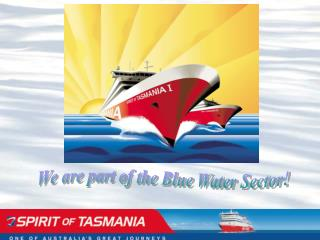 We are part of the Blue Water Sector