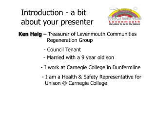 Introduction - a bit about your presenter