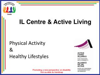 Physical Activity    Healthy Lifestyles