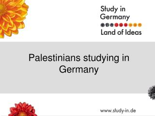 Palestinians studying in Germany