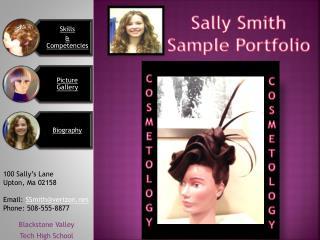 Sally Smith Sample Portfolio