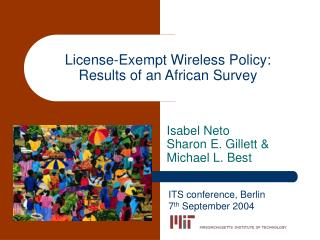 License-Exempt Wireless Policy: Results of an African Survey