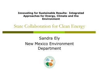 State Collaboration for Clean Energy
