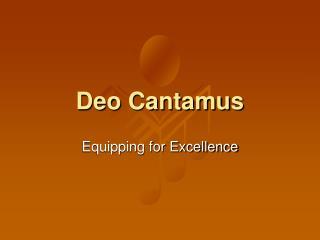 Deo Cantamus