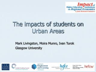 The impacts of students on Urban Areas