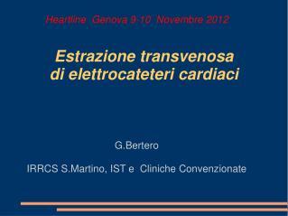 Estrazione transvenosa   di elettrocateteri cardiaci