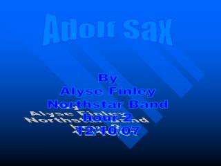 Adolf Sax