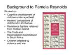 Background to Pamela Reynolds