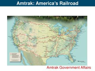 Amtrak Government Affairs