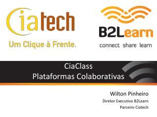 CiaClass Plataformas Colaborativas