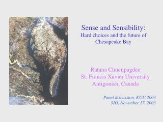Sense and Sensibility: Hard choices and the future of Chesapeake Bay