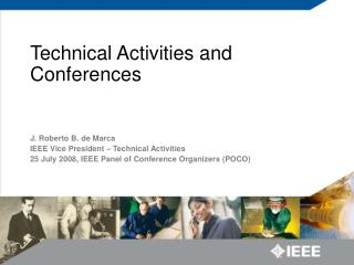 Technical Activities and Conferences