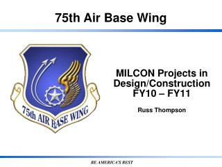 MILCON Projects in Design