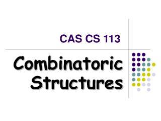 CAS CS 113