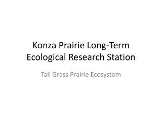 Konza Prairie Long-Term Ecological Research Station