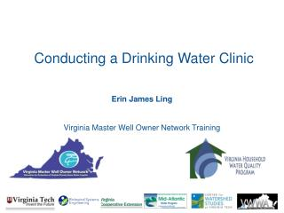 Erin James Ling   Virginia Master Well Owner Network Training