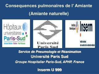 Service de Pneumologie et R animation