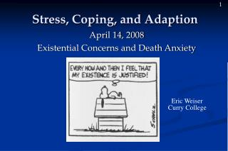 Stress, Coping, and Adaption
