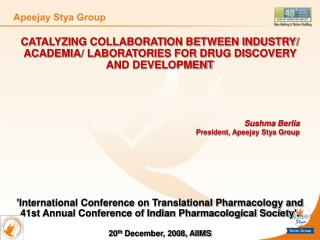 CATALYZING COLLABORATION BETWEEN INDUSTRY