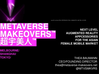 Metaverse Makeovers