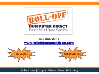 The Dumpster Rental Guide - 4 Steps to Renting a Dumpster