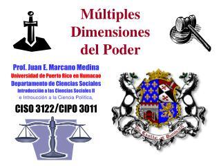 M ltiples  Dimensiones  del Poder