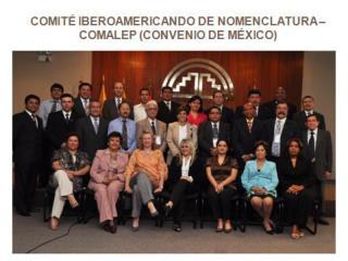 REUNIONES DEL COMIT  IBEROAMERICANO DE NOMENCLATURA REALIZADAS EN EL A O 2011