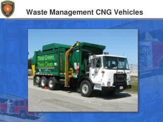 Waste Management CNG Vehicles