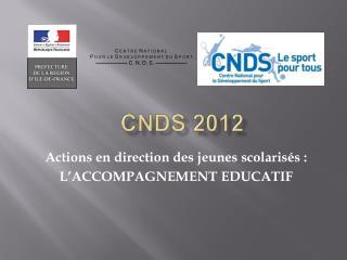 CNDS 2012