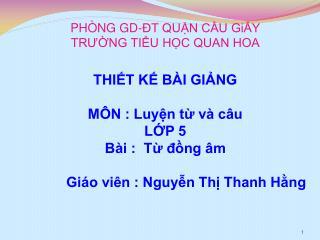PH NG GD- T QUN CU GiY TRUNG TIU HC QUAN HOA