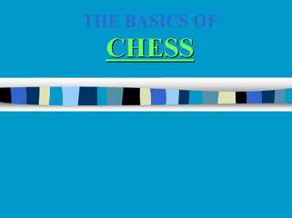 Basics of Chess