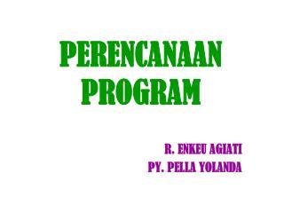 PERENCANAAN PROGRAM