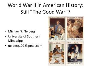 World War II in American History: