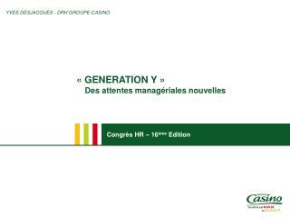 Congr s HR   16 me Edition