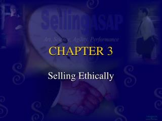 Selling Ethically