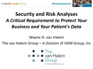 Security Planning and  Risk Analysis