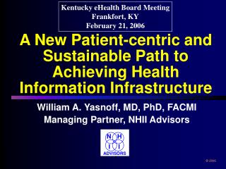 A New Patient-centric and Sustainable Path to Achieving Health Information Infrastructure