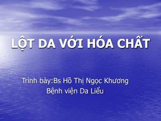 LT DA VI H A CHT